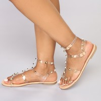 Resort Stay Sandals - Nude