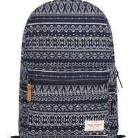 HotStyle Vintage Aztec Print Unisex Fashion Canvas School Backpacks (18L) Rucksack Daypack Bookbag Features Padded 14-inches Laptop Sleeve