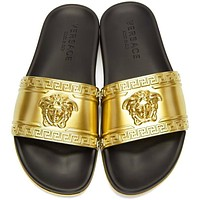 Versace Woman Men Fashion Casual Sandals Slipper Shoes slippers