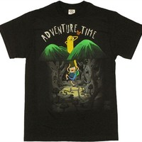 Adventure Time Spooky Forest T Shirt