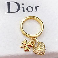 DIOR New Fashion Women Chic Pendant Ring Accessories Jewelry