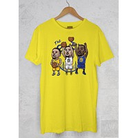 Steph Curry Kevin Durant Klay Thompson Cartoon Golden State Basketball T Shirt
