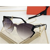Fendi Popular Womens Mens Fashion Shades Eyeglasses Glasses Sunglasses
