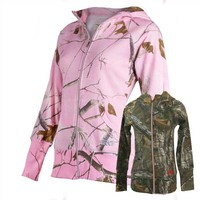 Realtree Girl Women's RTG Star Camo Hoodie Jacket