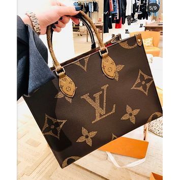Louis Vuitton LV Book Tote Bag