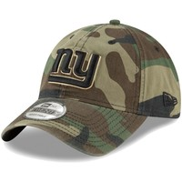 Men's New Era Woodland Camo New York Giants Core Classic 9TWENTY Adjustable Hat