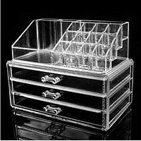 Storage Cosmetics Makeup Organizer Drawer Acrylic Transparent
