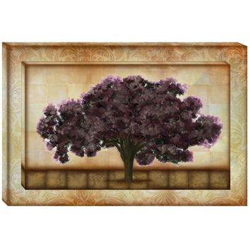 Fall Tree Double Canvas Wall Art (1084) - Illuminada