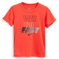 Boy's Nike 'Way Too Fast' Dri-FIT Graphic T-Shirt,