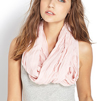 Undone Pleated Infinity Scarf