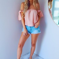 Simply Sweet Blouse: Baby Pink