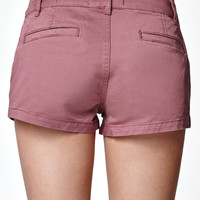 Bullhead Denim Co. Crushed Berry Chino Shorts at PacSun.com