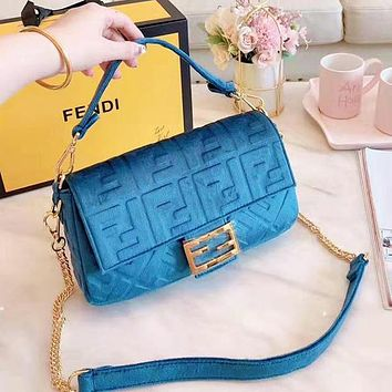 Fashion Women Shopping Leather Velvet Handbag Satchel Crossbody Shoulder Bag