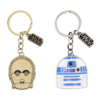 Star Wars R2-D2 & C-3PO Key Chain Set