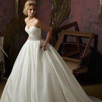 Blu by Mori Lee 4963 Ball Gown Wedding Dress