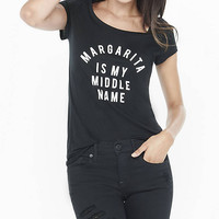 Margarita Crew Neck Graphic Tee from EXPRESS