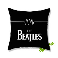 The Beatles Square Pillow Cover