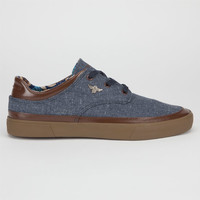 Creative Recreation Lazia Mens Shoes Navy/Brown  In Sizes