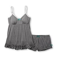 Joe Boxer Women's Pajama Cami & Shorts - Polka Dot