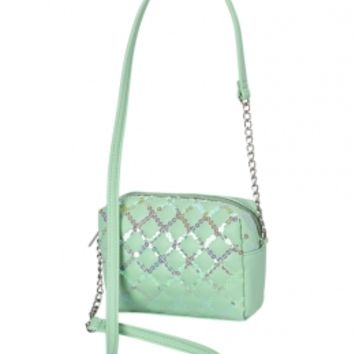 Sequin Quilted Crossbody Bag   Girls Fashion Bags & Wallets Fashion Bags & Totes   Shop Justice
