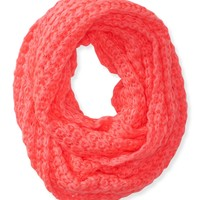 Solid Butterfly Knit Infinity Scarf - Aeropostale