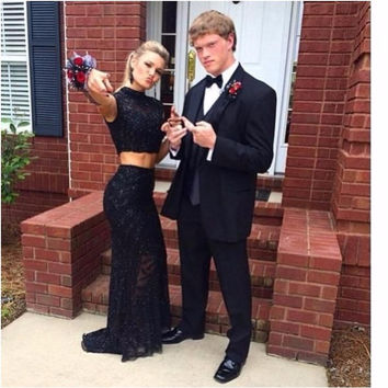Long Black Lace Prom Dresses Mermaid With Cap Sleeves 2 Two Pieces Black Girls Party Gowns For Graduation Vestido De Festa 2016