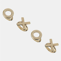 Topshop 'XOXO' Rings (Set of 4)   Nordstrom