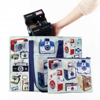 Vintage Camera Tote and Pouch - The Photojojo Store!