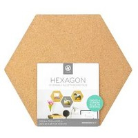 UBrands® Cork Hex Tiles 3ct
