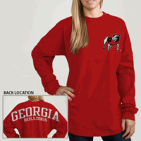 UGA League Ra Ra Tee - Red