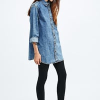BDG Acid Wash Denim Shirt - Urban Outfitters