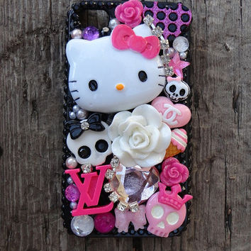 Hello Kitty Phone Cover Droid IPhone Blackberry HTC Samsung