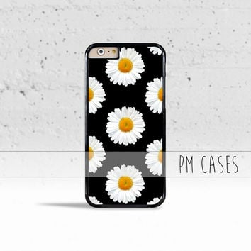 Lovely Daisies Case Cover for Apple iPhone 4 4s 5 5s 5c 6 6s SE Plus & iPod Touch