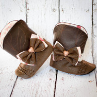 Love Your Heart ... Cowgirl Boots for Baby