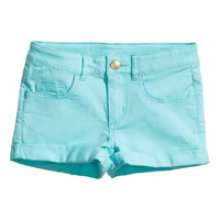 Twill shorts Generous fit - from H&M