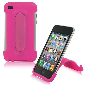 XtremeMac iPod Touch 4G Snap Stand Case - Bubble Gum Pink