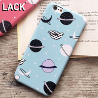 Cartoon Airship Stars Frosted Case For iphone 5S Case For iphone 5 5S 6 6S Plus Hard Cover Universe Series Phone Cases Capa NEW!