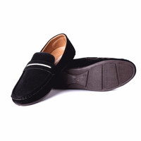 Mens Suede Style Loafers