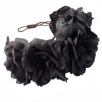 OPHELIA Oversized Floral Crown Headband - Rock 'N Rose from ROCK 'N ROSE UK