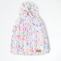 Roxy Nola Pom Beanie - Womens Sweaters - Multi - One