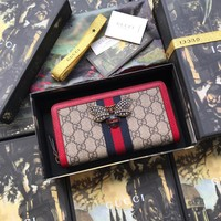 Gucci Queen Margaret zip around wallet