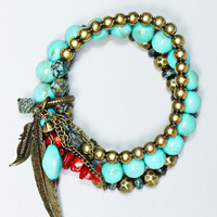 Turquoise Valley Bracelet - TURQUOISE