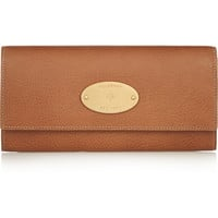 Mulberry - Textured-leather continental wallet