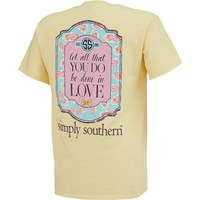 Simply Southern Women's Love T-shirt | Academy