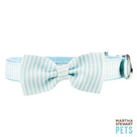 Martha Stewart Pets® Stripe Bow Tie Collar