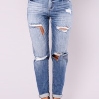 Didi Girlfriend Jeans - Medium