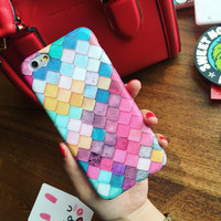 Water-drop Marmaid Skin Case for iPhone