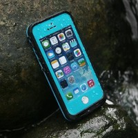 iPhone 5s Waterproof Case,Levin® Waterproof/SnowProof/DirtProof Durable iPhone 5s & 5 Case Underwater Full Sealed Protection Case Cover ,Blue (Waterproof Protection up to 6.6 ft)