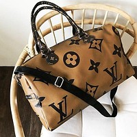 LV Louis Vuitton Fashion Women Men Luggage Travel Bags Tote Handbag Satchel Crossbody Brown