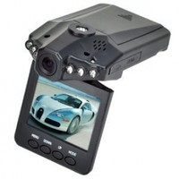 """UDI F198 Car Dash DVR With Night Vision, Microphone Built In, 2.5"""" Rotatable and Foldable TFT LCD Screen display"""